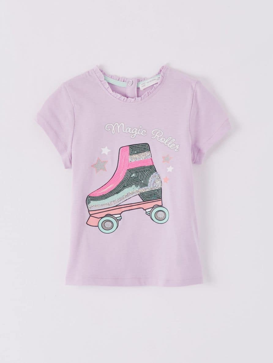 Short-sleeved T-shirt Infant girl Terranova