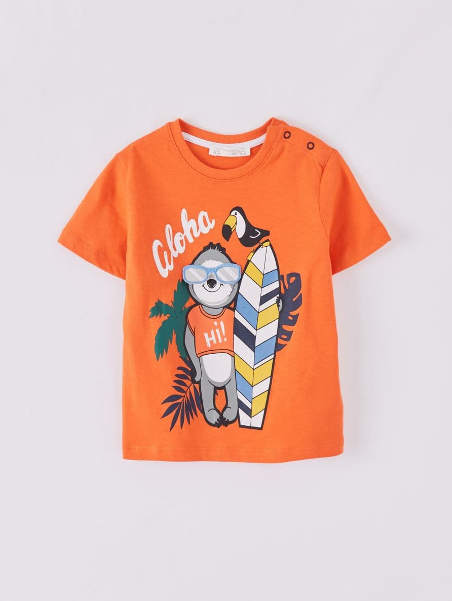 Short-sleeved T-shirt Infant boy Terranova