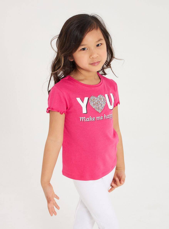 Short-sleeved T-shirt Girls Terranova