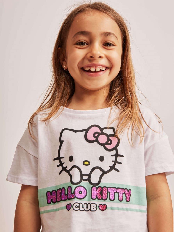 Тениска с къс ръкав Детски дрехи за момичета 010