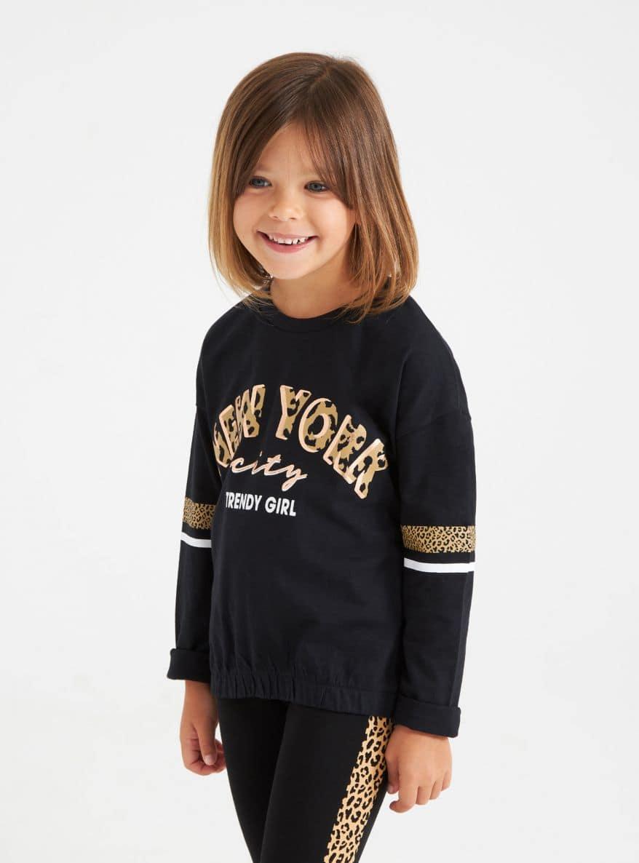 Long-sleeved T-shirt Girls Terranova