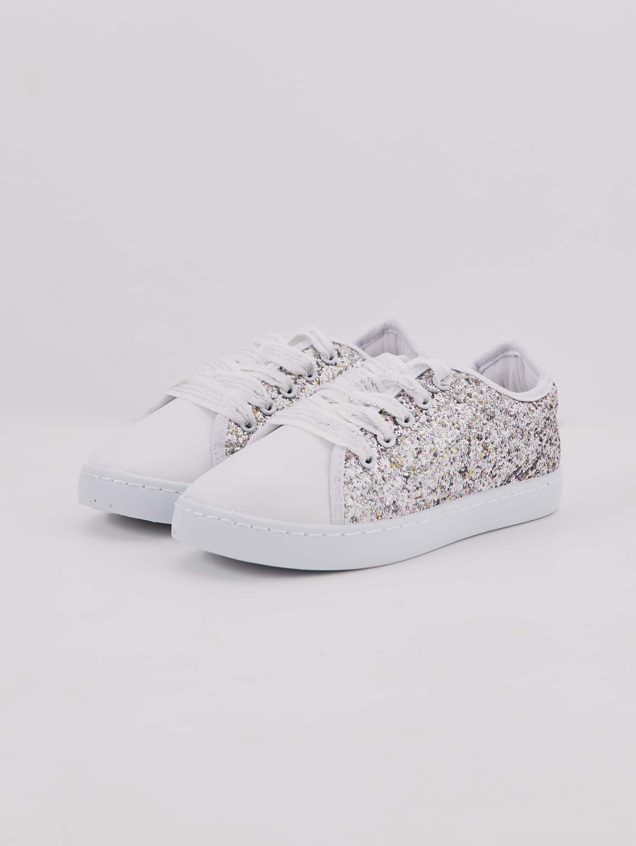Silver Glitter trainers - Buy Online