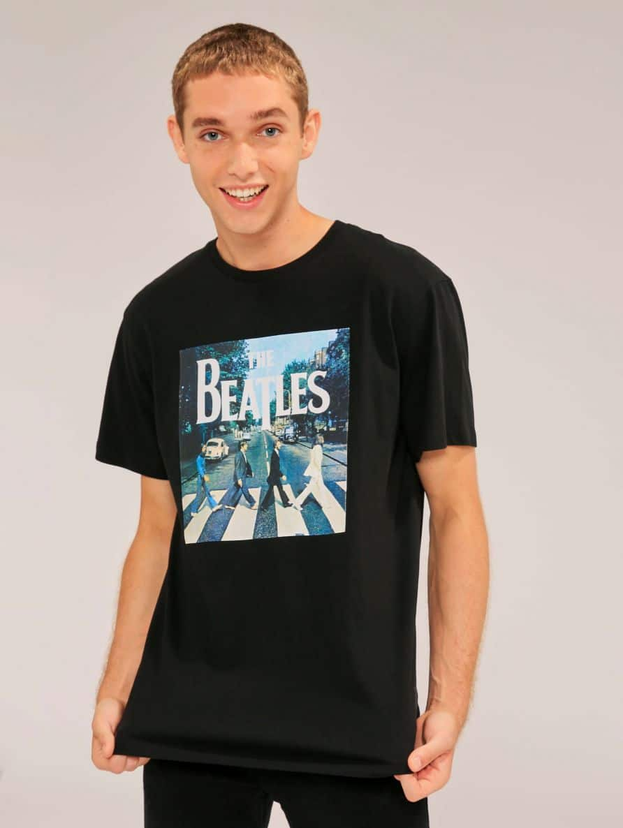 Beatles print t-shirt